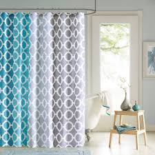 Curtains Printed Designs 90 By Design Lab Printed Shower Curtain And Hook Set Ebay