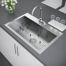 top mount stainless steel sink exclusive heritage 33 x 22 inch single bowl top mount stainless