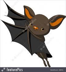 halloween bat presenting illustration