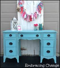 Turquoise Vanity Table Turquoise Vanity Makeover