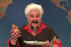 sign language thanksgiving guy fieri u0027s thanksgiving cooking tips on saturday night live eater