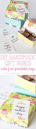 diy paper treat boxes and free printable tags free printable
