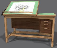 Building A Simple Wooden Desk by 38 Best Diy Drafting Tables Images On Pinterest Drafting Tables