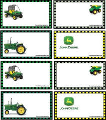 i printed these for owen u0027s tractor party they are free party