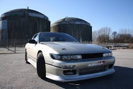silver nissan car a smart silver nissan 180sx sil80 conversion 180sx club