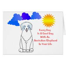 life with australian shepherd funny australian shepherd greeting cards zazzle