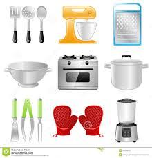 modern kitchen equipment kitchen appliance illustration modern kitchen different house