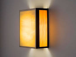 Fluorescent Wall Sconce F N 3 Glass Fluorescent Wall Sconce Artisan Crafted Lighting