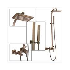 Faucets Online Wall Mount Antique Brass Shower Faucet Set Sa 012 Faucets Online