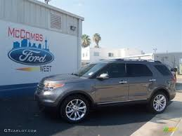 Ford Explorer Limited - 2013 sterling gray metallic ford explorer limited 67429634