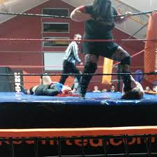 new zealand wrestling ring for hire maniacs united