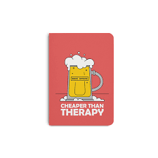 dailyobjects cheap therapy a6 notebook plain
