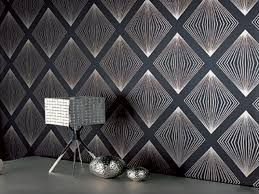 Cool Wallpaper Ideas - modern contemporary wallpaper room design ideas