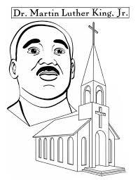 martin luther king sermon coloring preschool printables