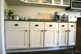 Refacing Cabinets Diy by Diy Beadboard Wallpaper Cabinets Nest Of Bliss