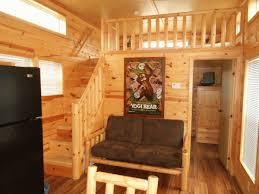 Small Cabin Ideas Interior Stunning Small One Room Log Cabin Plans Using Brown Velvet