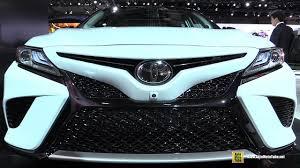 camry 2018 toyota camry exterior and interior walkaround debut at