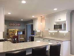Semi Custom Cabinets Complete Kitchen Makeover With Semi Custom Cabinets Aco