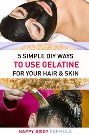 using gelatin for your hairstyles for women over 50 5 diy ways to use gelatine in your skin hair routine