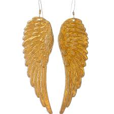 wing earrings angel wing earrings