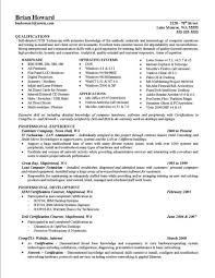 Computer Hardware And Networking Resume Samples by Accomplishments On Resume U2013 Resume Examples