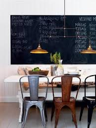 15 dining room with chalkboard accents rilane
