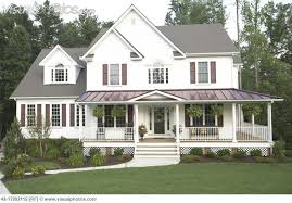 wrap around porch good traditional exterior by birdseye design