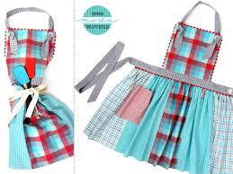 patron tablier cuisine fille tablier de cuisine patron 3 modele couture tablier 148094