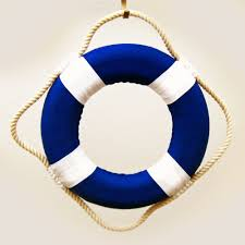 nautical colors mini 8 solid color cloth covered life ring nautical theme party