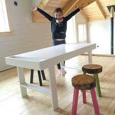 kids art table and chairs play desk for kids ways to old furniture into new creations for kids