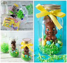 easter bunny gifts jar chocolate easter bunny gifts crafty morning