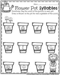 flower worksheets for kindergarten flower garden coloring page