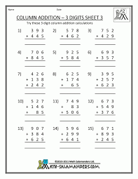 free math worksheets and printouts grade 3 printable doub koogra