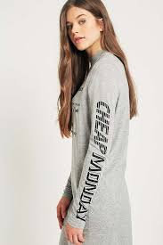 cheap monday strict long one card t shirt dress urban outfitters