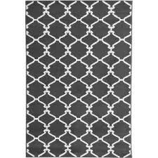 Homedepot Trellis Ottomanson Contemporary Moroccan Trellis Gray 5 Ft 3 In X 7 Ft