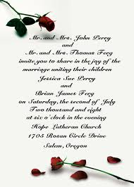 Wording On Wedding Programs How To Make Your Wedding Invitations Wording Invitationstyles Uk