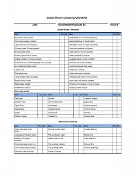 house cleaning checklist templates hotel stuff pinterest
