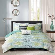 Coverlet Sets Bedding Home Essence Reza 6 Piece Quilted Bedding Coverlet Set Walmart Com