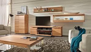 Wohnzimmerschrank Nussbaum Massiv Moderne Wohnwand Massivholz Vedua Hülsta