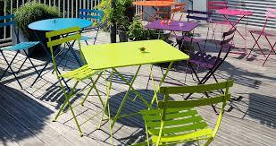 table de jardin fermob soldes table bistro 77x57 cm table de jardin table pliante jardin