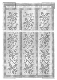 Crochet Lace Curtain Pattern 159 Best Szydełko Firany Images On Pinterest Crochet Curtains