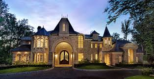 French Chateau Style Homes Small Luxury Homes Designs Blueprints For High End Luxury