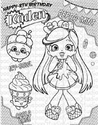 print cute shopkins shoppies coloring pages cooki kooki