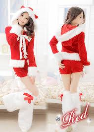womens santa costume kougalog rakuten global market womens santa claus fluffy leg
