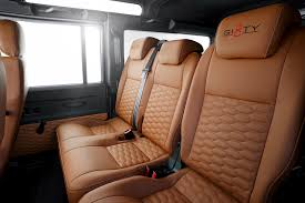 land rover defender interior back seat land rover defender startech sixty8 by brabus hiconsumption