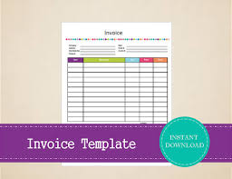 10 contractor invoice template samples templates assistant