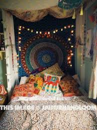 Hippie Interior Design Hippie Room Boho Mandala Tapestry
