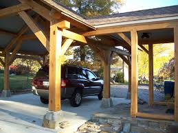 Outdoor Carport Canopy by Outdoor Living Timber Frame Pavilion Timber Frame Porte