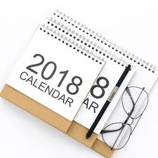 calendrier bureau 2018 bureau top flip calendrier mois pour voir stand up bureau table