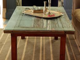 Coffee Table Glass by How To Repurpose A Door Into A Coffee Table How Tos Diy